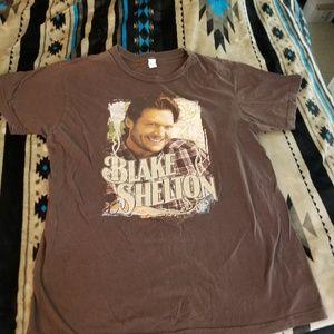 Brown Blake Shelton T-shirt